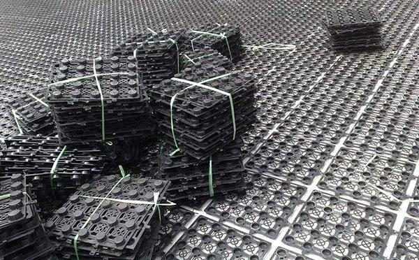车库底板排水板案例
